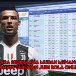Cara Sederhana Mudah Menang Bermain Taruhan Judi Bola Online